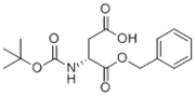 Picture of (R)-2-tert-Butoxycarbonylaminosuccinic acid 1-benzyl ester