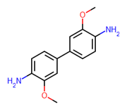 Picture of 3,3'-Dimethoxybenzidine